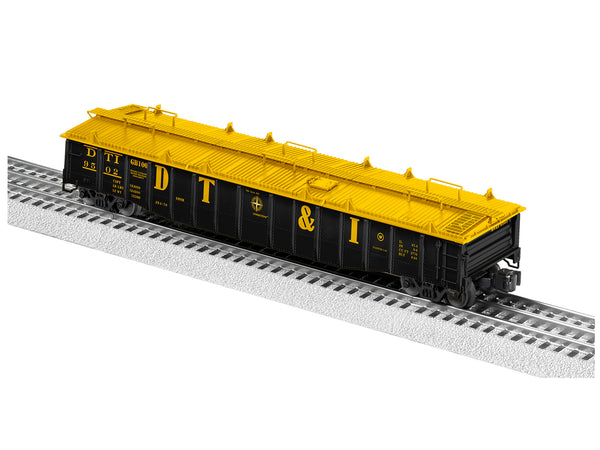Lionel 2126041 PS-5 Covered Gondola Detroit Toledo & Ironton #9502