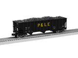 Lionel 2126160 100 Ton Hopper Pittsburgh & Lake Erie 2-Pack A