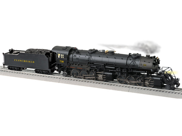 Lionel 2131150 Legacy Steam Locomotive Build-To-Order USRA 2-8-8-2 Clinchfield #730