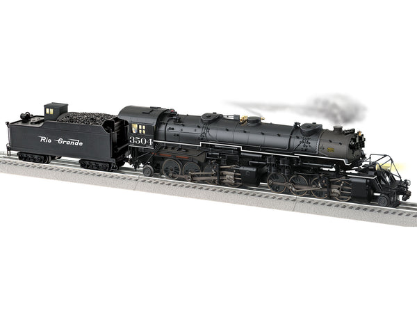 Lionel 2131160 Legacy Steam Locomotive Build-To-Order USRA 2-8-8-2 Rio Grande #3504