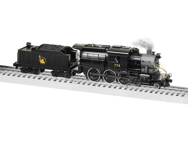 Lionel 2131400 LEGACY Camelback 4-6-0 Steam Locomotive Central New Jersey #774