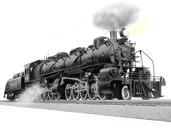 Lionel 2131470 VISIONLINE Santa Fe 3000 Class 2-10-10-2 Steam Locomotive #3001