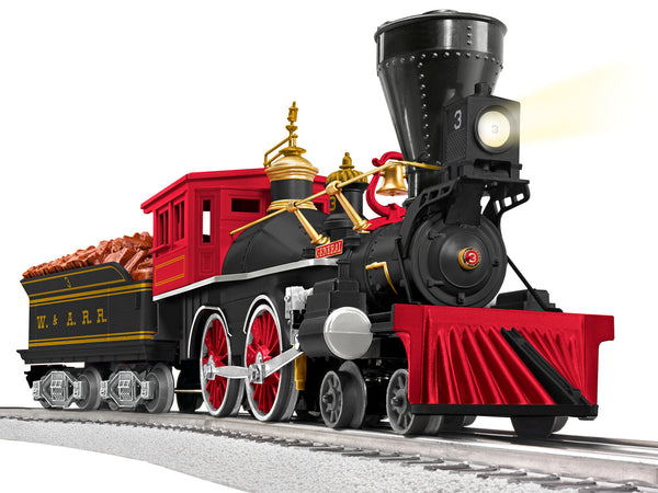 Lionel 2132070 LionChief 4-4-0 General Steam Locomotive Pennsylvania