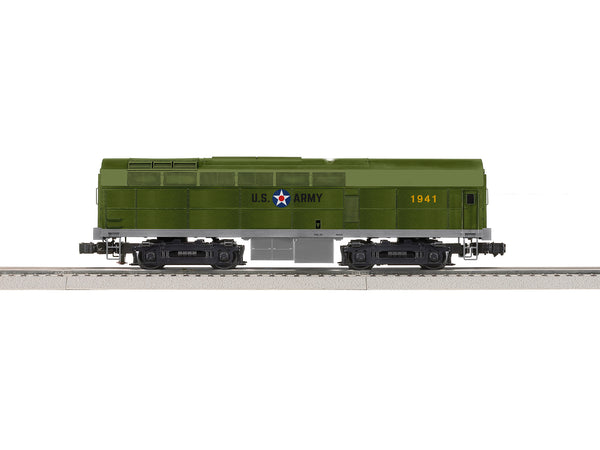 Lionel 2133289 Legacy Diesel Locomotive Build-To-Order US Army Superbass Sharknose B #1941