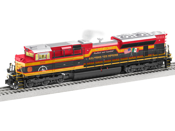 "Lionel 2133300 LEGACY SD70Ace Diesel Locomotive Kansas City Southern #4009 ""Heroes"""