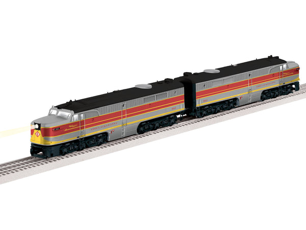 Lionel 2133380 LEGACY PA AA Diesel Locomotive Set Erie Lackawanna #862/863