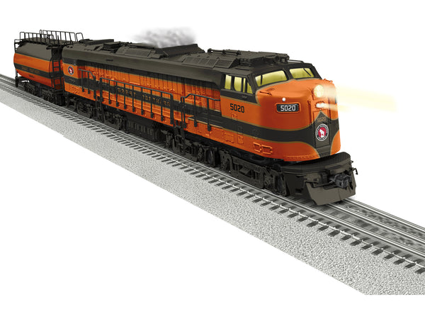 Lionel 2133520 LEGACY Veranda Turbine Diesel Locomotive Great Northern #5020
