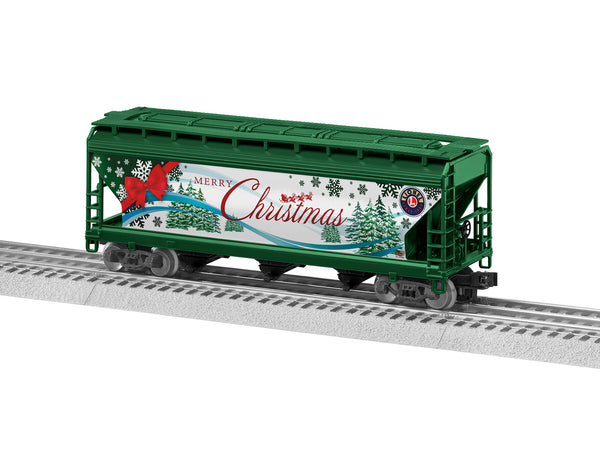 Lionel 3-18703 Merry Christmas LionScale 3-Bay Hopper