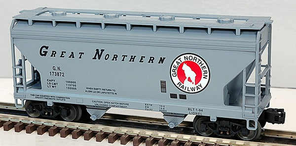 Lionel 6-17007 Great Northern 2-Bay ACF Hopper Standard 'O'