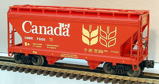 Lionel 6-17010 Government du Canada ACF 2-Bay Covered Hopper #7000