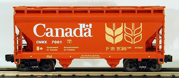 Lionel 6-17012 Government du Canada ACF 2-Bay Covered Hopper #7001