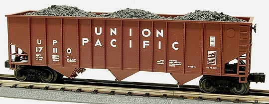 Lionel 6-17110 Union Pacific Three bay Hopper with Coal Load Standard 'O'