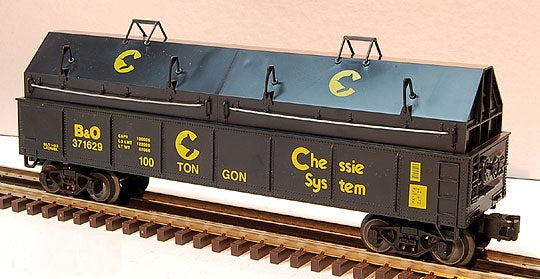 Lionel 6-17403 Chessie Gondola with Coil Covers Standard O