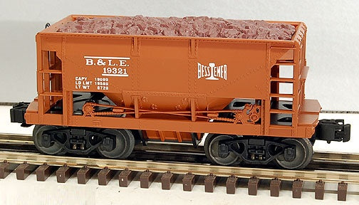 Lionel 6-19321 Bessemer & Lake Erie Ore Car with Load