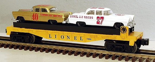 Lionel 6-19423 Lionel Racing Flatcar with Stock Cars