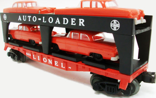 Lionel 6-19427 PWC #6414 Evans Auto Loader w/4-Red Cars