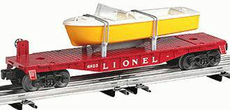 Lionel 6-26048 Postwar Celebration Series #6801 Flatcar With Boat