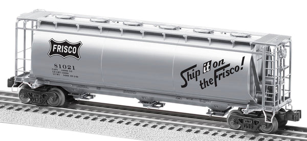 Lionel 6-27469 Frisco 3-Bay Cylindrical Hopper #81021