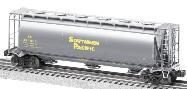 lionel 6-27474 Southern Pacific 3-Bay Cylindrical Hopper #491020