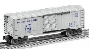 Lionel 6-27711 Postwar Celebration Series #6464 Rock Island Boxcar