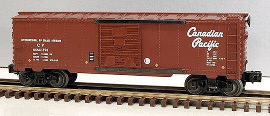 Lionel 6-29215 Canadian Pacific Boxcar 6464-398