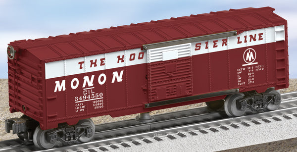 Lionel 6-29856 Postwar Celebration Series #3494-550 Monon Operating Boxcar