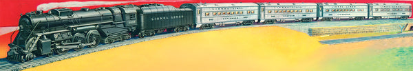 Lionel 6-31778 Outfit 14854WS Hudson 4-6-4 Streamlined Passenger Train Set (LOCO #2056)