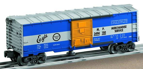 Lionel 6-36786 Postwar Celebration Series #3494 Missouri Pacific Operating Boxcar