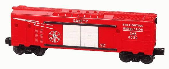 Lionel 6-39210 Postwar Celebration Series Fire Fighting Instruction Car