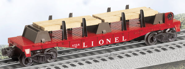 Lionel 6-39471 Postwar Celebration Series #6264 Lumber Car