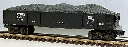 Lionel 6-6209 NYC Gondola with Coal Load