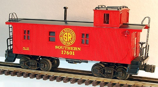 Lionel 6-17601 Southern Woodside Caboose Standard O