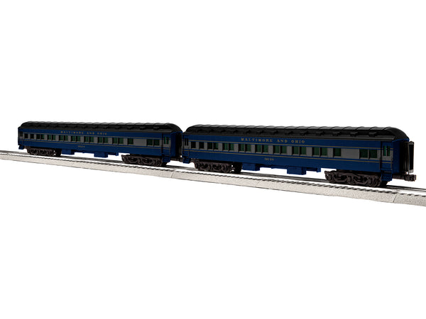 "Lionel 6-84190 - Lionel Scale 18"" Heavyweight Coach 2-Pack - Baltimore & Ohio #2"
