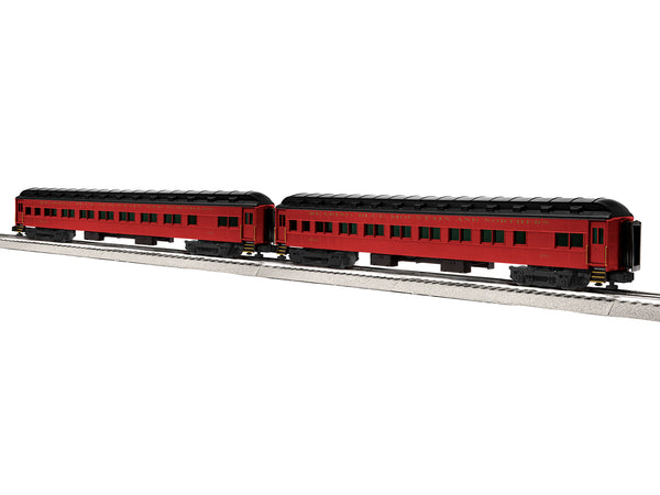 "Lionel 6-84196 - Lionel Scale 18"" Heavyweight Coach 2-Pack - Reading Blue Mountain & Northern #2"