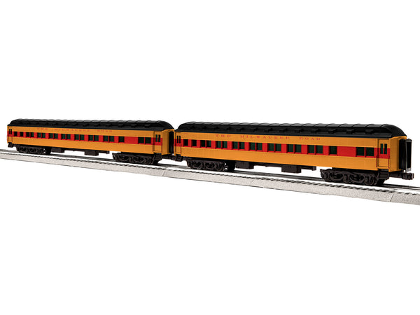 "Lionel 6-84199 - Lionel Scale 18"" Heavyweight Coach 2-Pack - MILW #1"