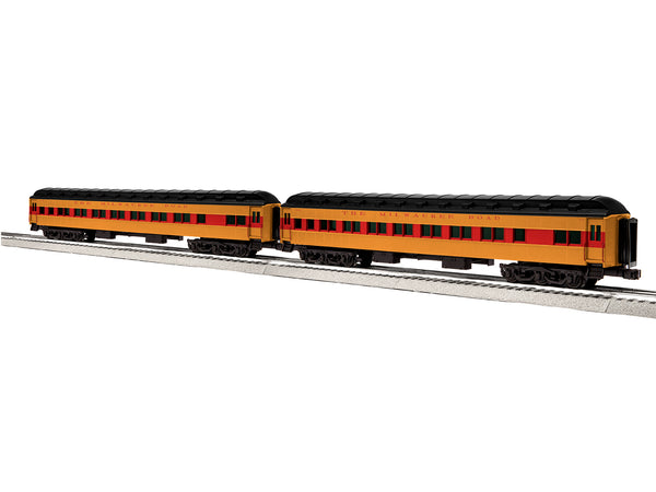 "Lionel 6-84202 - Lionel Scale 18"" Heavyweight Coach 2-Pack - MILW #2"