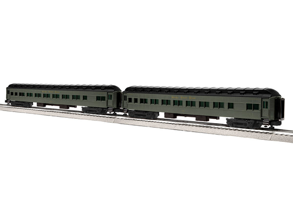 "Lionel 6-84205 - Lionel Scale 18"" Heavyweight Coach 2-Pack - NKP #1"