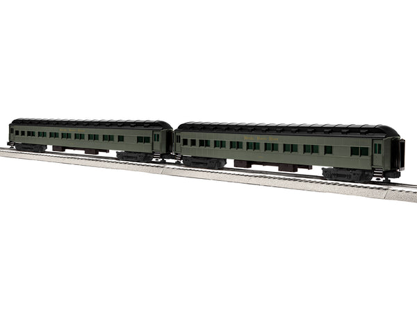 "Lionel 6-84208 - Lionel Scale 18"" Heavyweight Coach 2-Pack - NKP #2"