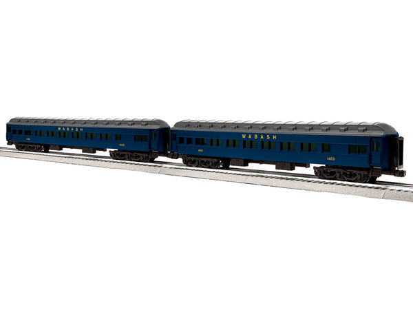 "Lionel 6-84217 - Lionel Scale 18"" Heavyweight Coach 2-Pack - Wabash #1"