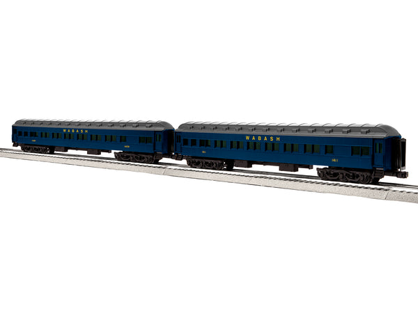 "Lionel 6-84220 - Lionel Scale 18"" Heavyweight Coach 2-Pack - Wabash #2"