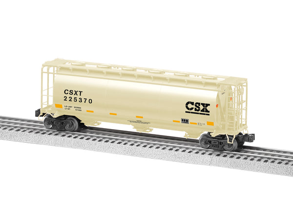 Lionel 6-84922 - Lionel Cylindrical Covered Hopper - CSX #225370