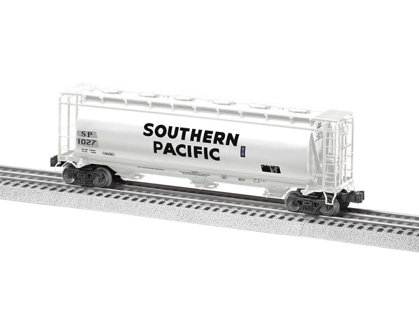 Lionel 6-84927 - Lionel Cylindrical Covered Hopper - Southern Pacific #1027
