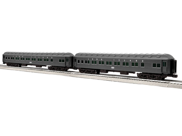 "Lionel 6-85000 - 18"" Heavyweight Coach 2 Pack - Long Island 18"" #2"