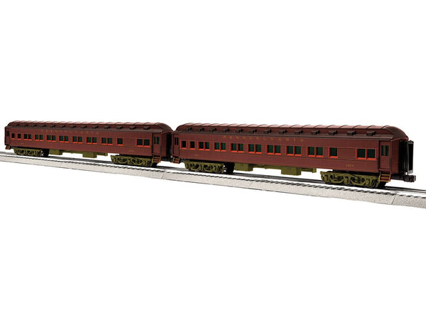 "Lionel 6-85009 - 18"" Heavyweight Coach 2 Pack - PRR 18"" #1"
