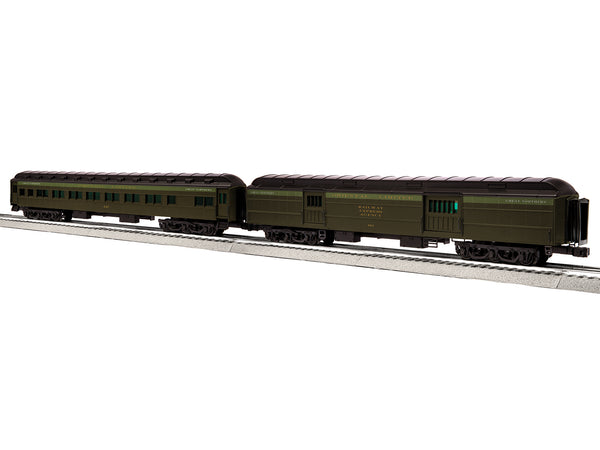 Lionel 6-85227 - Passenger Cars - Great Northern Oriental Ltd Baggage / Coach