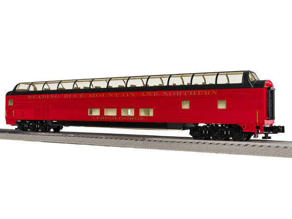 "Lionel 6-85376 - Lionel Scale Excursion & Business Cars - 21"" Reading & Northern StationSounds Dome Car #4"