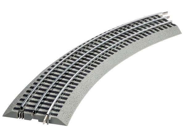 LIONEL 6-12033 FASTRACK O36 CURVED TRACK 4-PACK
