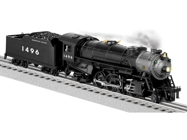 Lionel 6-81183 MISSOURI PACIFIC LEGACY SCALE HEAVY MIKADO 2-8-2 STEAM LOCOMOTIVE #1496