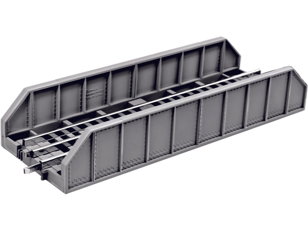 "LIONEL 6-84388 10"" GIRDER BRIDGE TRACK - GREY"