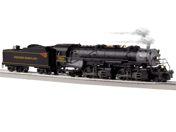 Lionel 6-85184 Western Maryland LEGACY 2-6-6-2 Steam Locomotive #960